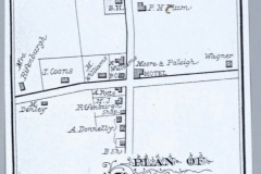Clermont Village Map 1888